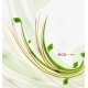 Download Vector Green Eco Nature Minimal Floral Concept