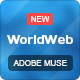 WorldWeb Muse Template