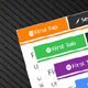Pure CSS3 Responsive Tab