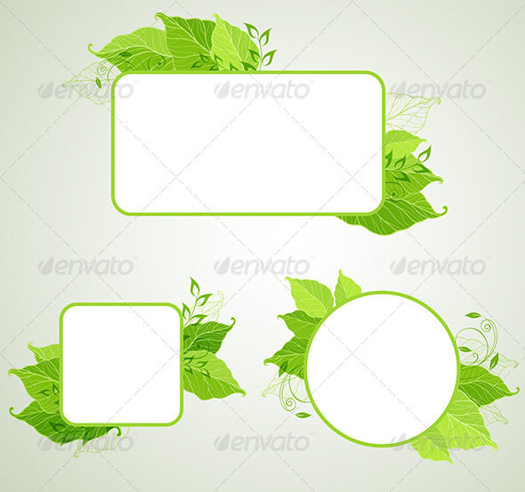 GraphicRiver Green Ecology Banners 6635196