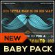 Little Man Mustache Baby Shower Invitation - GraphicRiver Item for Sale