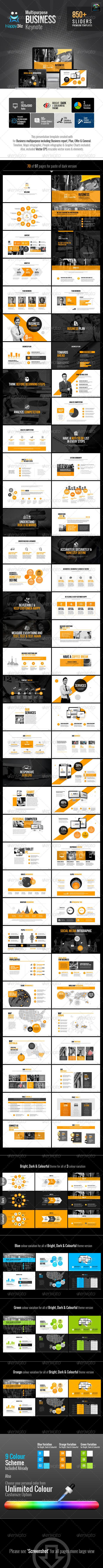 GraphicRiver HappyBiz Multipurpose Keynote 6636178