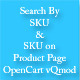 Search By SKU - SKU on Product Page - OpenCart
