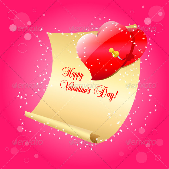 GraphicRiver Valentine s Day Letter 6636831