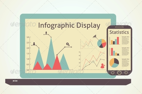 GraphicRiver Infographics Devices 6636914