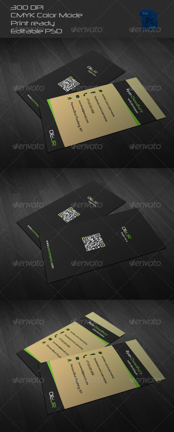 GraphicRiver Corporate Business Card 24 6637002