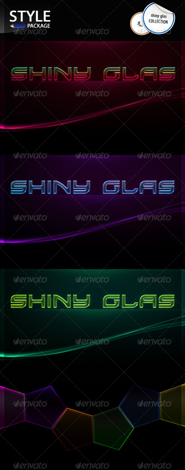 GraphicRiver Shiny Glas Styles 6638110