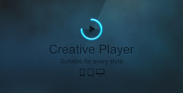 CodeCanyon Creative Player Responsive HTML5 Player 6594768