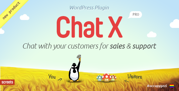 CodeCanyon Chat X WordPress Chat plugin for Sales & Support 6639389