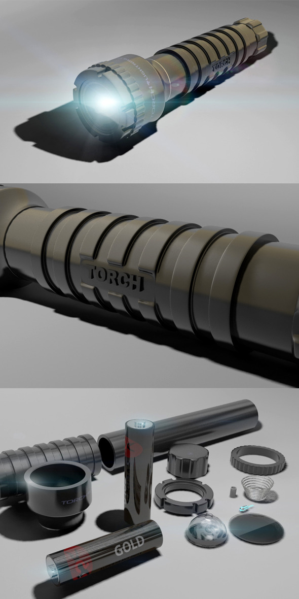 3DOcean Torch 6640485
