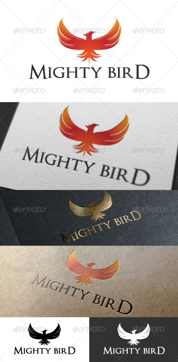 GraphicRiver Mighty Bird Logo Template 6640626