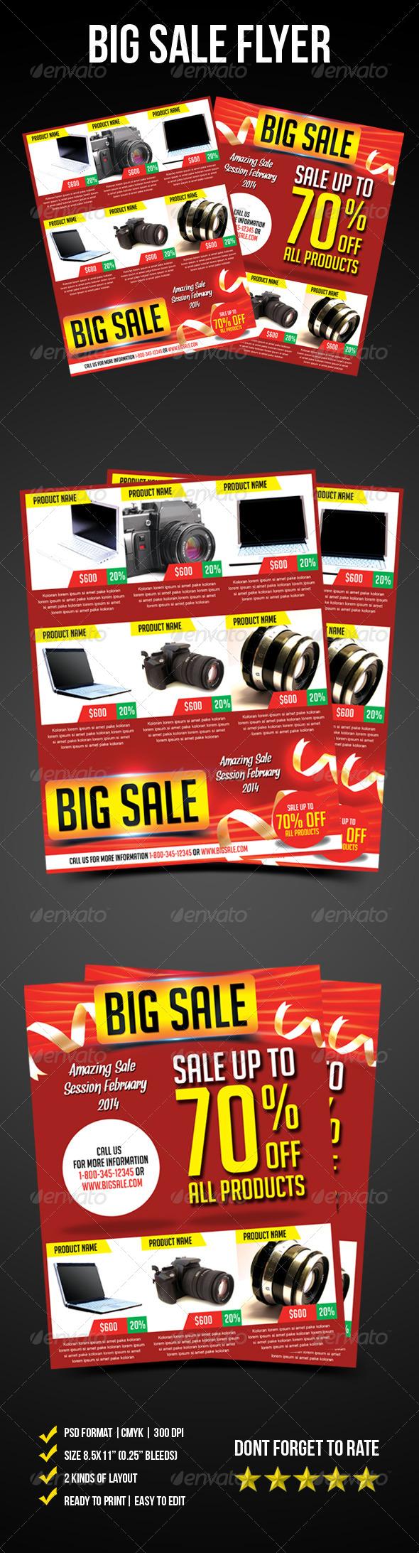 GraphicRiver Big Sale Flyer 6640629