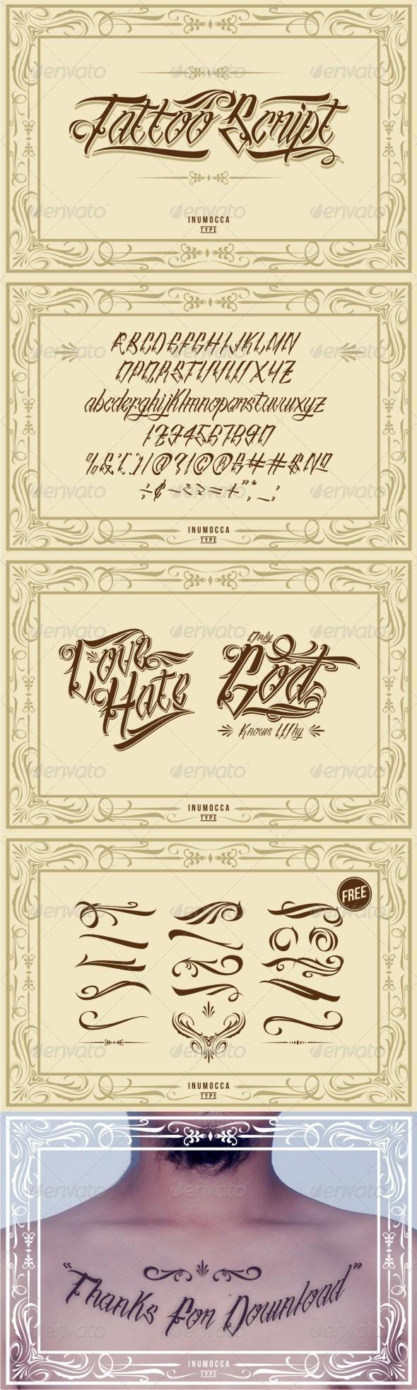 GraphicRiver Tattoo Script 6640829