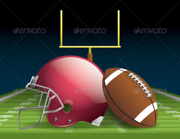 GraphicRiver American Football 6640896