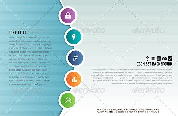 GraphicRiver Icon Set Background 6641154