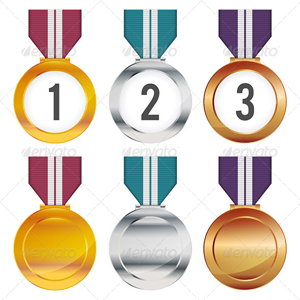GraphicRiver Medals 6641168