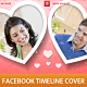 Heart Valentine Timeline Cover - GraphicRiver Item for Sale