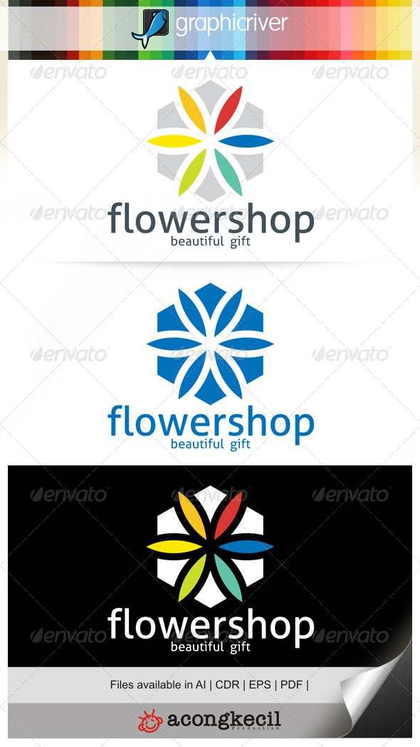 GraphicRiver Flower Shop 6641249
