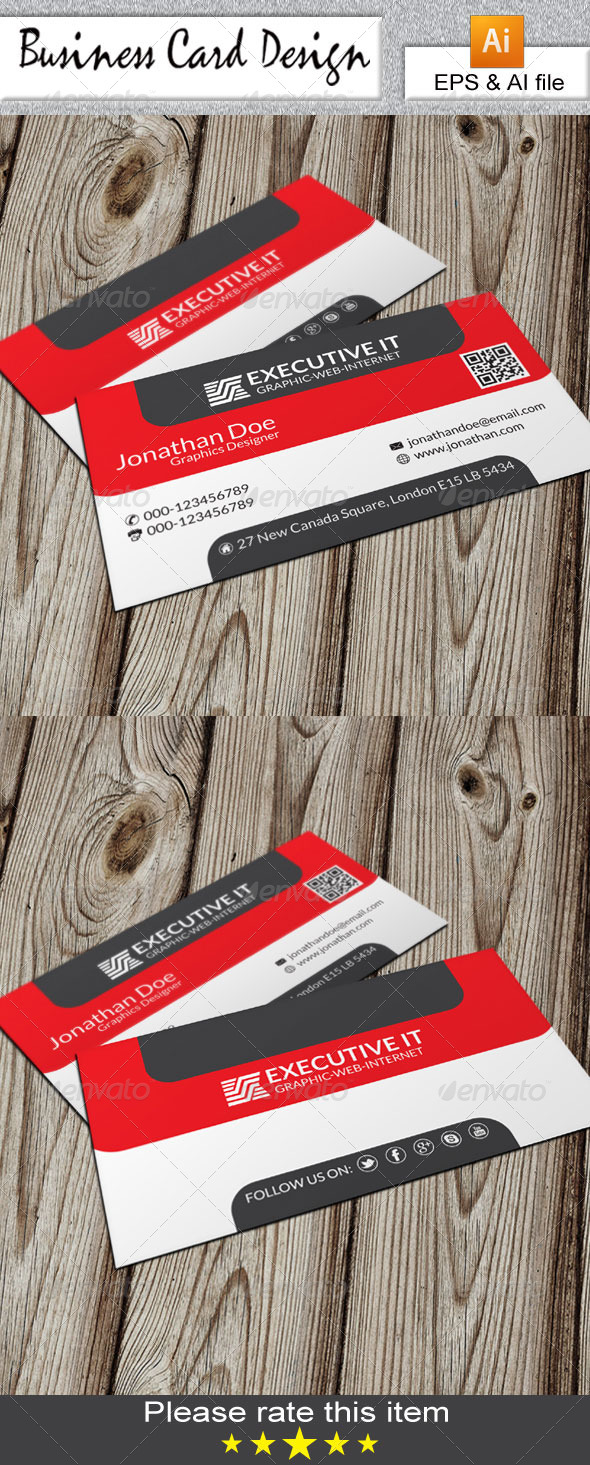 GraphicRiver Creative Business Card 6641597