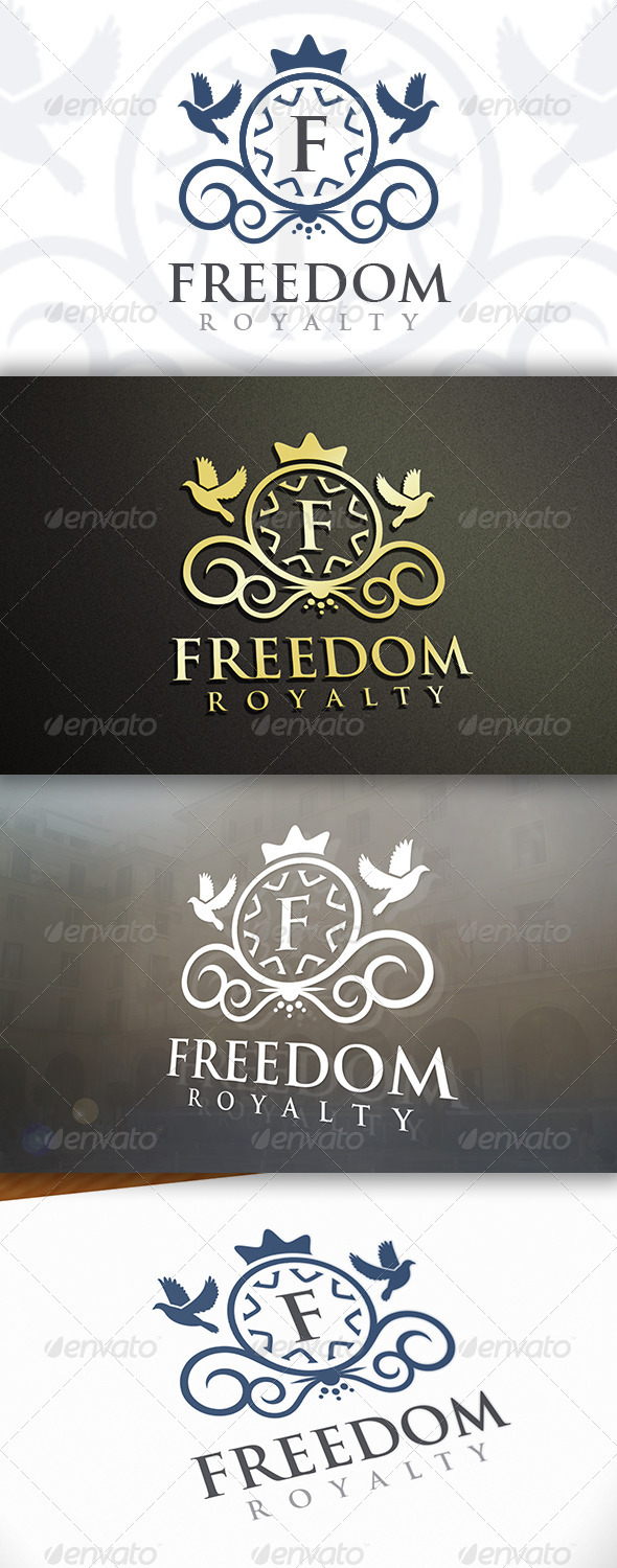 GraphicRiver Freedom Logo 6641604