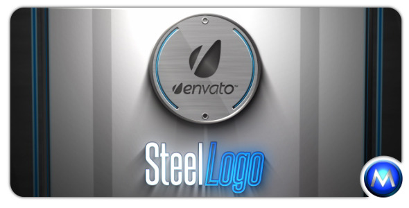 After Effects Project - VideoHive Steel Logo 696503