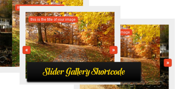 Slider gallery shortcode - CodeCanyon Item for Sale