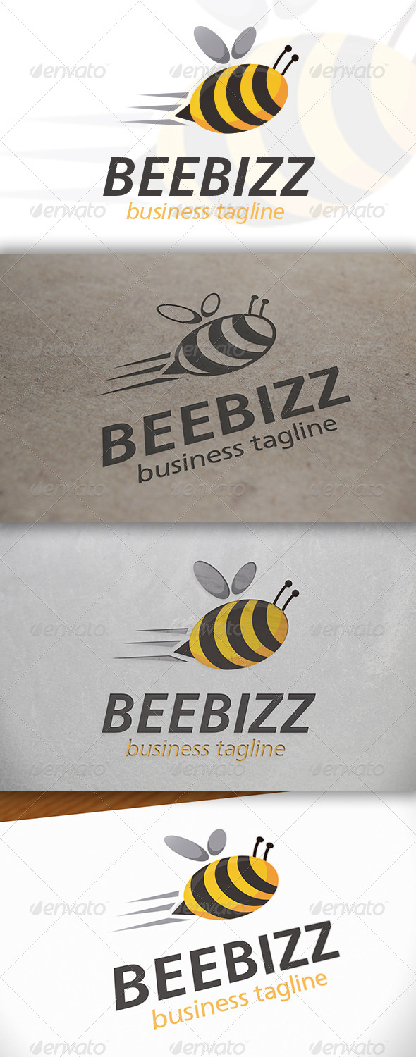 GraphicRiver Bee Logo 6641879