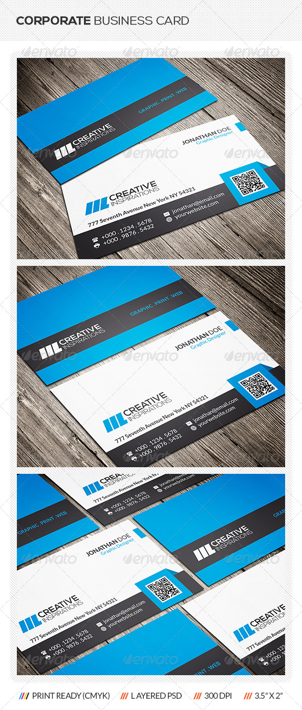 GraphicRiver Corporate Business Card 6642504
