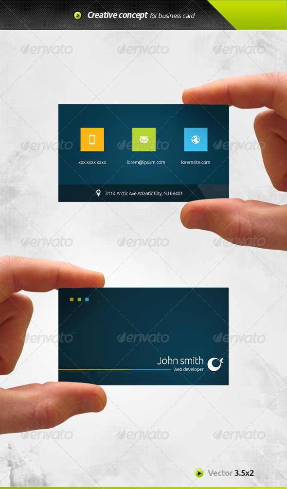 GraphicRiver Metro Business Card 6642542