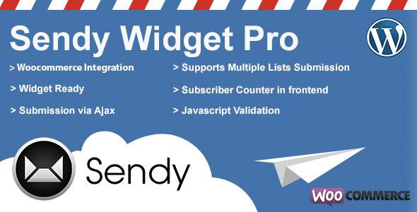Sendy Widget Pro - CodeCanyon Item for Sale