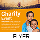 Charity Event Flyer Template - GraphicRiver Item for Sale