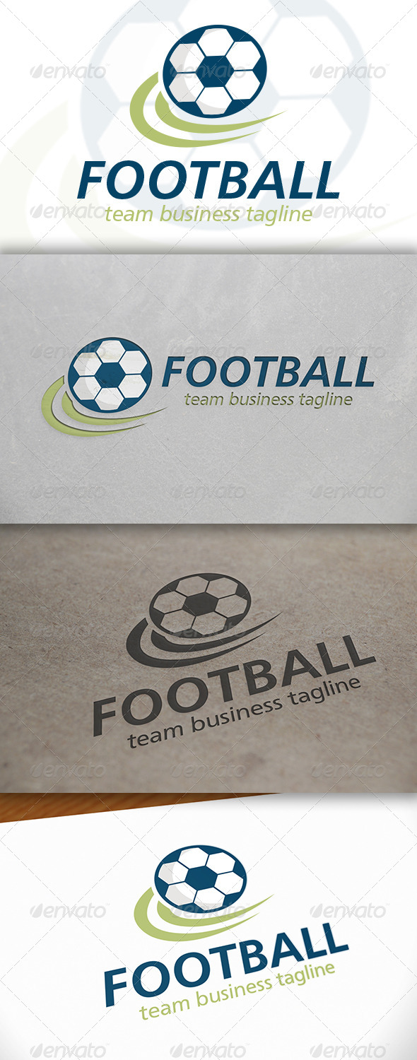 GraphicRiver Football Logo 6642872