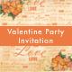 Valentine Party Invitation - GraphicRiver Item for Sale
