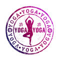 Yoga stamp - PhotoDune Item for Sale