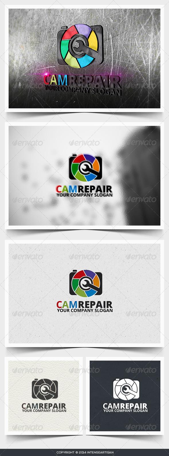 GraphicRiver Camrepair Logo Template 6643129