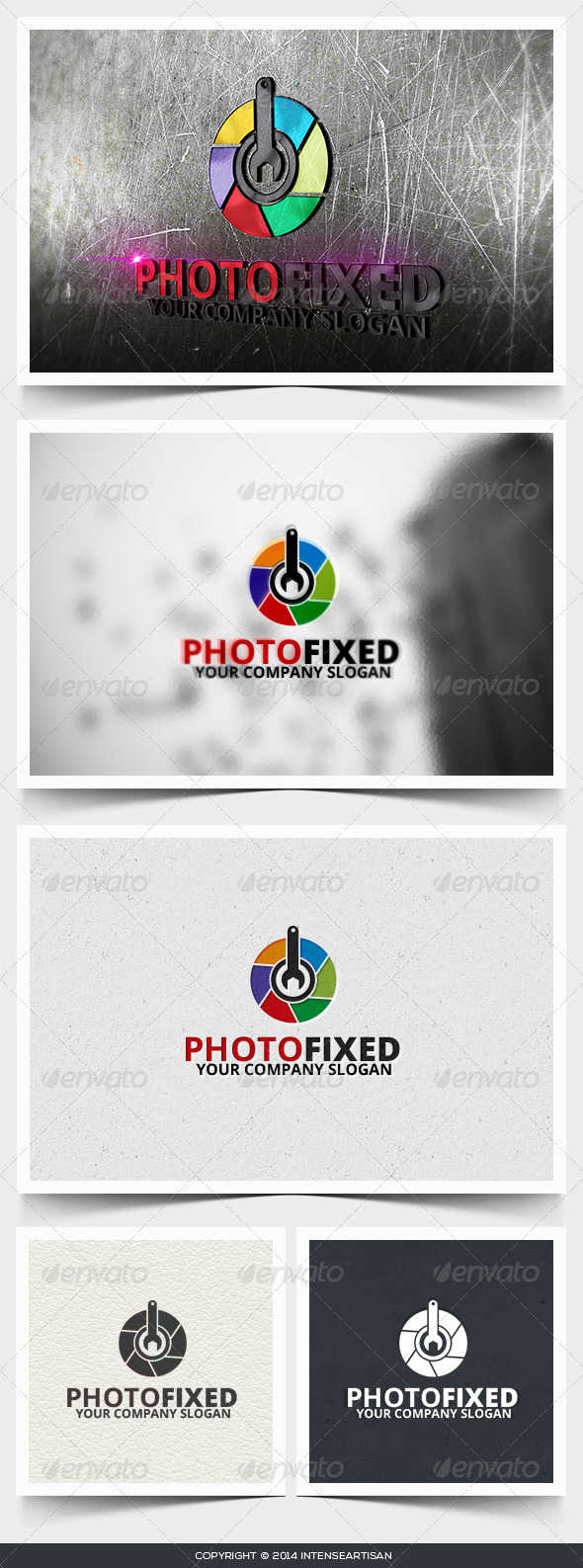 GraphicRiver Photo Fixed Logo Template 6643132