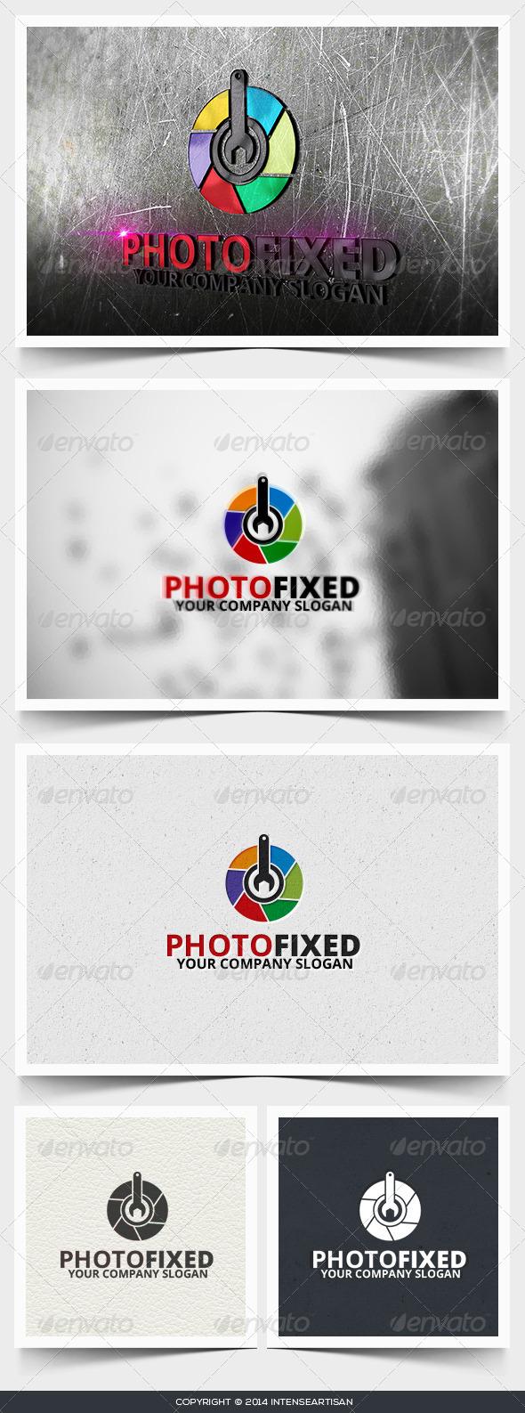 Photo Fixed Logo Template - Objects Logo Templates