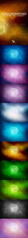 GraphicRiver Nebula Backgrounds 6643190