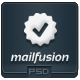 MailFusion - PSD Email Template - GraphicRiver Item for Sale