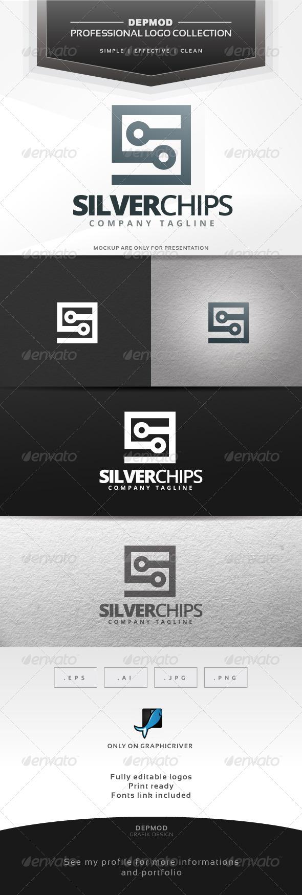 GraphicRiver Silver Chip Logo 6643315