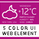 UI Web Element 5 Color