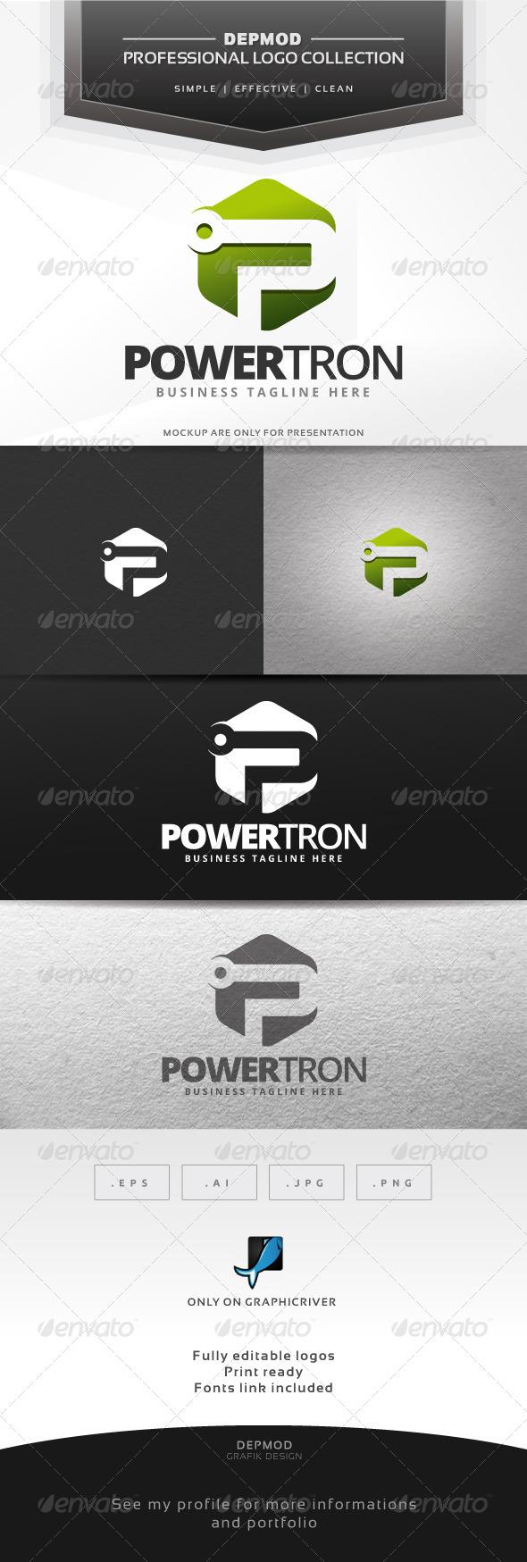 GraphicRiver Powertron Logo 6643629