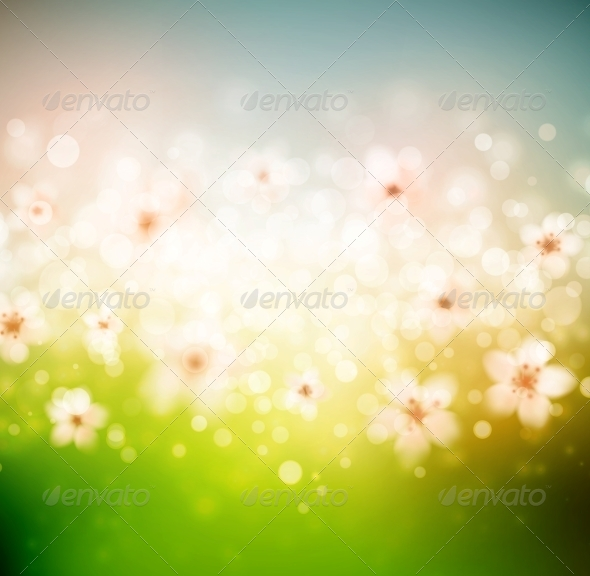 GraphicRiver Spring Background 6643675