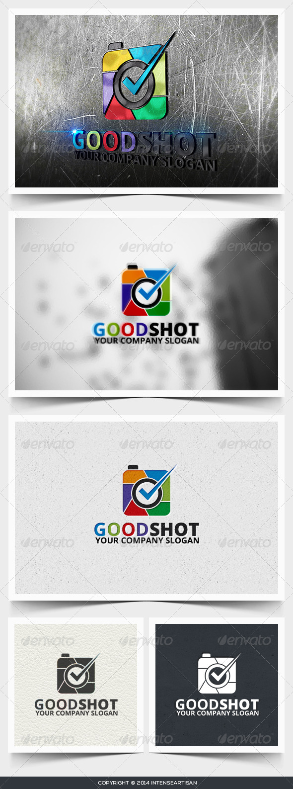 GraphicRiver Good Shot Logo Template 6643696