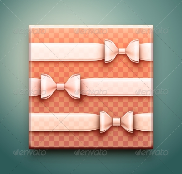 GraphicRiver Box with Gift 6643697