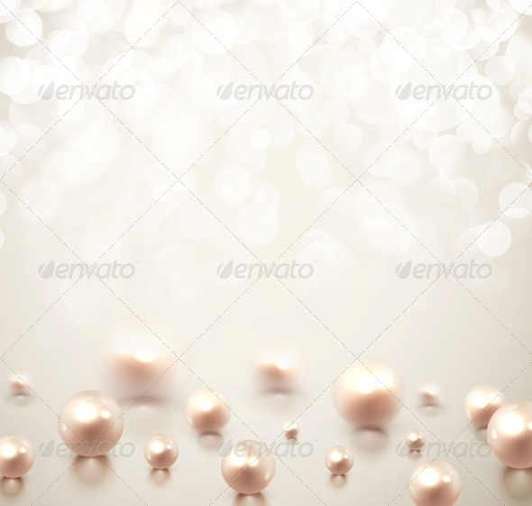 GraphicRiver Background with Pearls 6643711