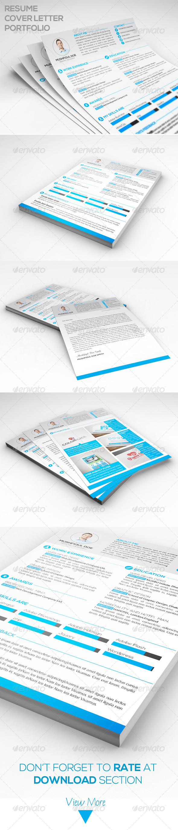 GraphicRiver Resume Template 6622990