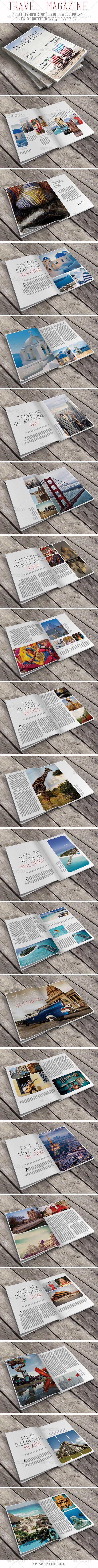 GraphicRiver Travel Magazine 6643750