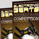 Electronic Beats Banner Signage Template