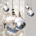 Crystal ornament hanging with lights - PhotoDune Item for Sale
